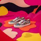 Les baskets de la capsule colorée Vans x Liberty