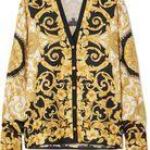 Chemise Versace à imprimé foulard