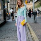 Bleu menthe + lilas