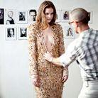 Mode reportage coulisses haute couture defile alexandre vauthier casting