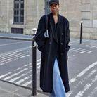 Casquette et manteau assorti