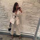 Haut de pyjama avec ceinture