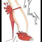 Christian Louboutin Pluminette Drawing