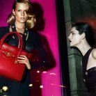 Stella Tennant pour Versace