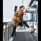 Gilet sans manches en fourrure Louis Vuitton