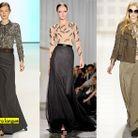 Mode tendance defiles new york La jupe extra longue