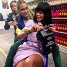 Cara Delevingne, Joan Smalls et Rihanna au Chanel Shopping Center