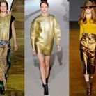 Mode tendance look defiles paris La touche gold