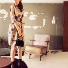 Printemps été 2012 -  Robe en soie, Dior.