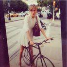 Le vélo de Karlie Kloss