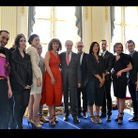 Mode elle aime lamode soiree ministere laureats photo officielle frederic mitterand