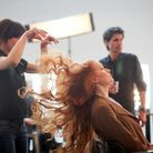 Mode casting lectrices shooting coulisses karl lagerfeld elise coiffure