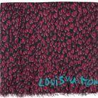 Le foulard léopard LV