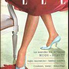 Couverture ELLE magazine 1953 gant