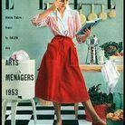 Couverture ELLE magazine 1953