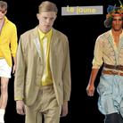 Tendances hommes 2010 le jaune