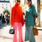 Briller en maille colorée