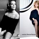 Mode serie icones femmes retro lecon mode romy Schneider