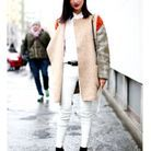Total look blanc à MIlan