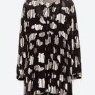 Robe transparente Zara