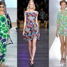 Mode tendance defiles fashion week fleurs