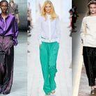 Mode tendance defiles fashion week pantalon large