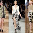 Mode tendance defiles fashion week zebres