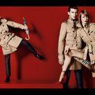 Campagne été 2013 Burberry Photographe Mario Testino Mannequins Romeo Beckham, Charlie France et Edie Campbell