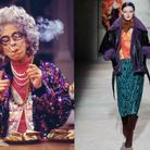 Grand-mère Yetta en Dries Van Noten
