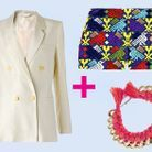 Mode tendance shopping conseil veste blanche style ethnique