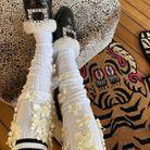 Des chaussettes imprimées