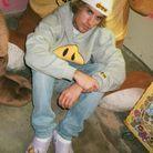 Crocs sur Justin Bieber