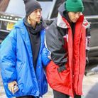 Justin Bieber et Hailey Baldwin en doudoune oversized