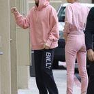 Justin Bieber et Hailey Baldwin en rose