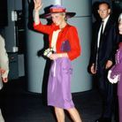La tenue colorée de Lady Diana