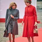 Tapis rouge pour Brigitte Macron