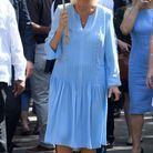 Camilla Parker Bowles en robe légère