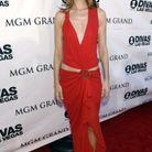 Céline Dion et sa robe rouge