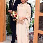 Meghan Markle en robe cape