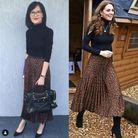 La jupe léopard de Kate Middleton