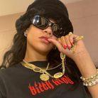 Rihanna et son collier astro Briony Raymond