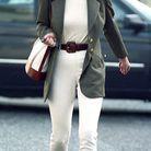 Princesse Diana en total look blanc