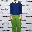 Harry Styles en bleu et vert
