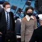 Ella Emhoff en manteau Miu Miu à l'investiture