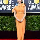 Michelle Williams en robe sur-mesure Louis Vuitton aux Golden Globes