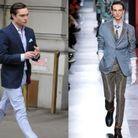 Chuck Bass en Dior Homme