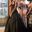 La robe couture noire de Jordan Alexander