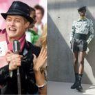 Ryan Evans en Dior Homme