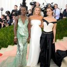 Lupita Nyong'o, Margot Robbie et Emma Watson ont opté pour des tenues eco responsables au Met Gala 2016