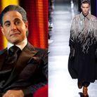 Caesar Flickerman en Dior Homme